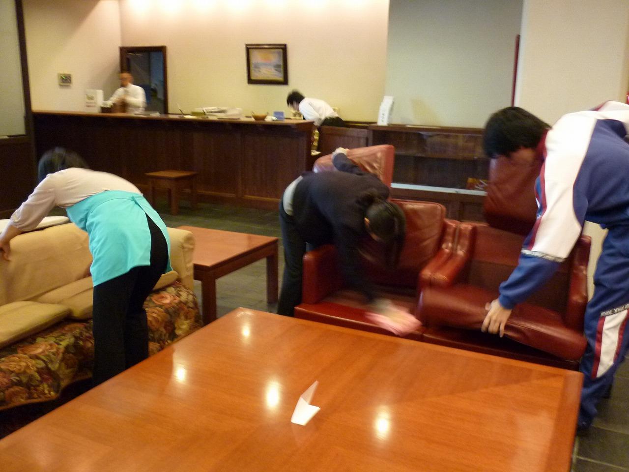 ホテルの清掃指導写真3