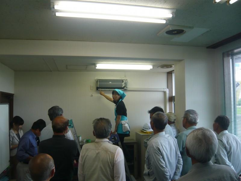 エアコン洗浄 講習会写真2