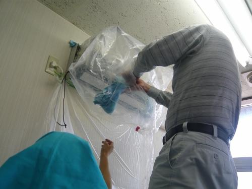 エアコン洗浄 講習会写真3