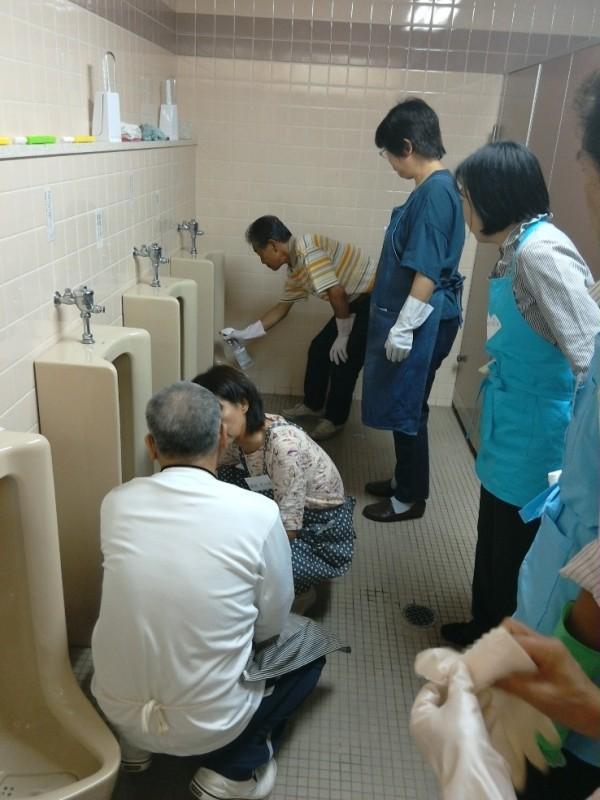 掃除スタッフ 講習会写真4